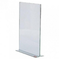 Porte affiche / visuel A4 plexi vertical