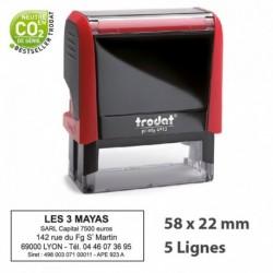 Tampon Encreur Trodat 4913 (58 x 22 mm)