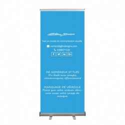 """Roll Up """"Eco"""" 85x200 cm + pack mise en page"""