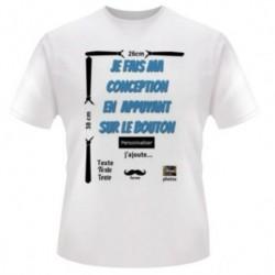 Tee-shirt, Face 26x38cm